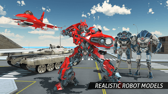 Air Robot Game - Flying Robot Transforming Plane APK for Kindle Fire