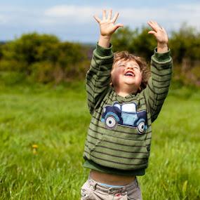 You Are My Sunshine by Nat Parnell - Babies & Children Children Candids ( happy, sunshine, kids )
