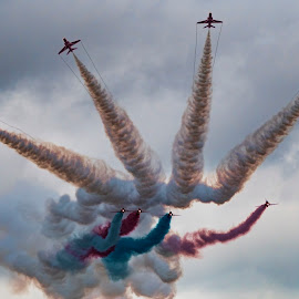 The Red Arrows by Tristan Wright - Transportation Airplanes (  )