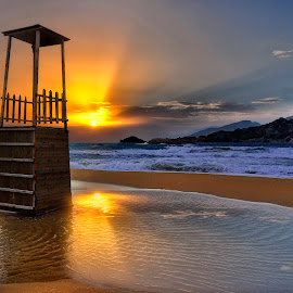 The observatory by George Paximadakis - Landscapes Waterscapes ( greece, crete )