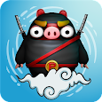 Piggy Ninja : Sky Jump