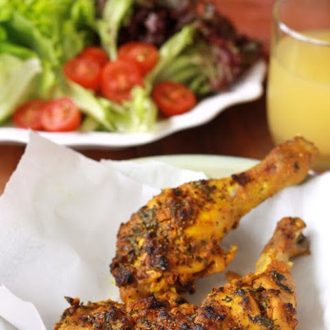 Chermoula Spiced Roasted Chicken
