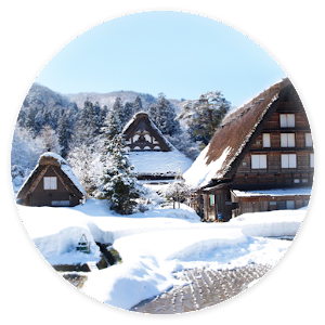 【Snow of Shirakawago】