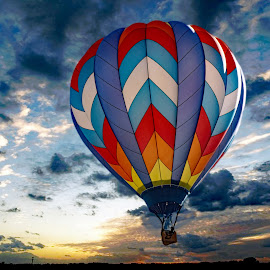 Balloon fiesta by Victor Orazi - Transportation Other
