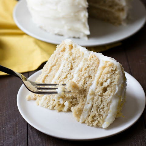 Gluten Free Lemon Layer Cake