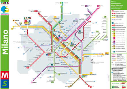Milan Metro Map - screenshot