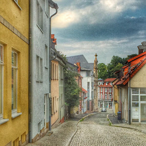 Eisenach by Briana Jones - City,  Street & Park  Historic Districts ( street, stone, germany, historic )