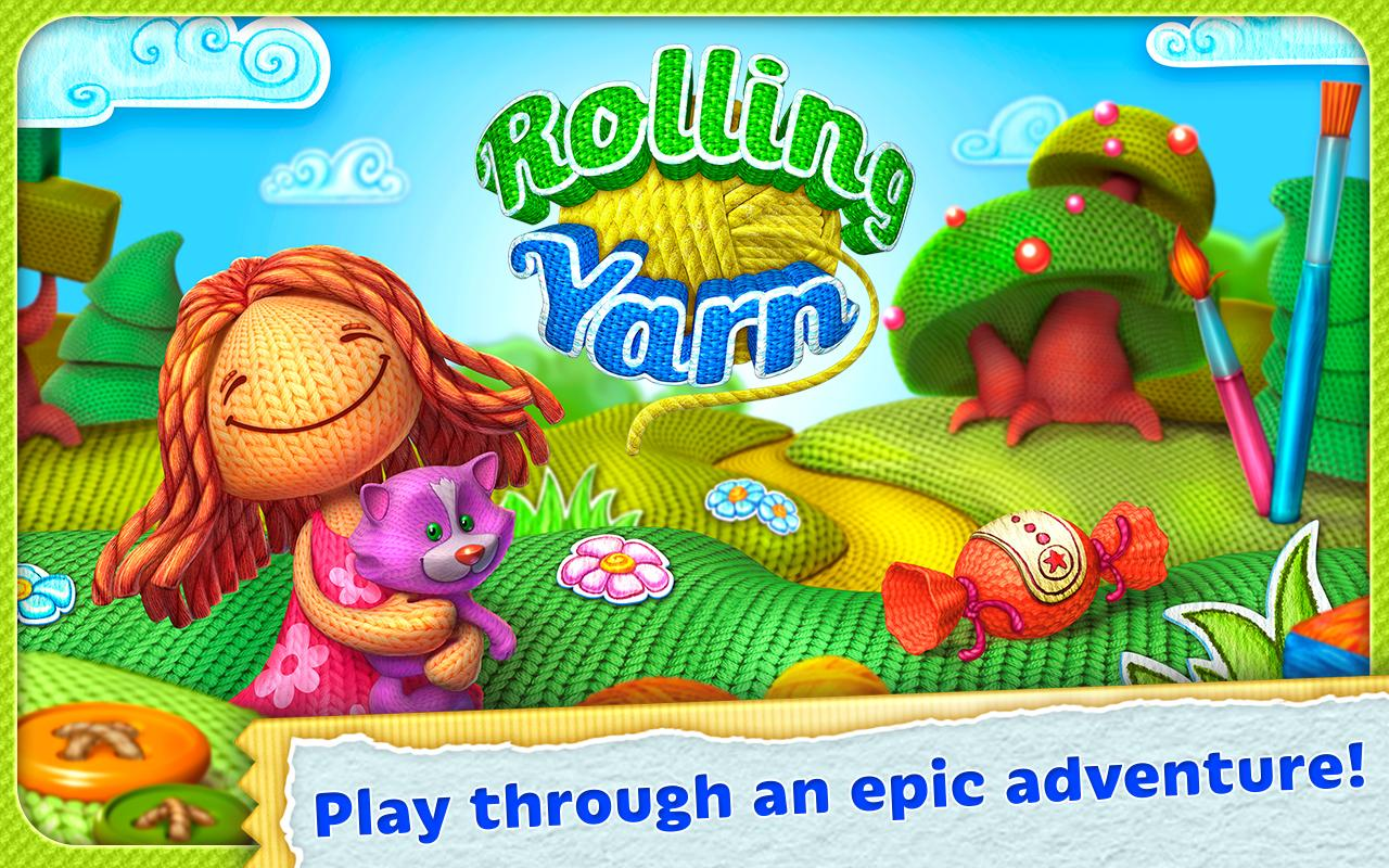 Rolling Yarn: Amazing Puzzle Screenshot 14