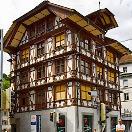 Swiss style by Radu Eftimie - Buildings & Architecture Homes ( swiss style, apartment building )