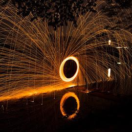 by Eko Probo D Warpani - Abstract Fire & Fireworks