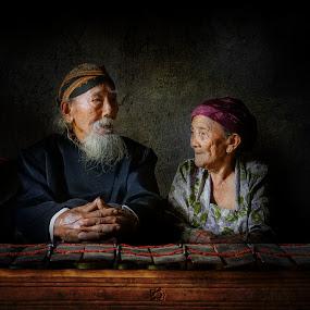 Grandpa and grandma by Indrawan Ekomurtomo - People Couples (  )