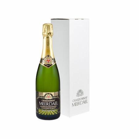 Witte geschenkverpakking Chardonnay Meerdael (1 fles)