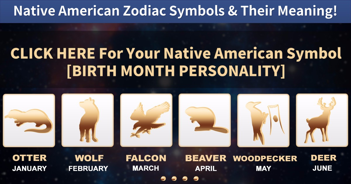 Find Your Native American Zodiac Symbol Its Meaning Vonvon