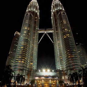 Petronas Twin Tower by Stuart Rango - Buildings & Architecture Statues & Monuments ( twin, klcc, stuart, tower, lumpur, klss, petronas, rango, kuala,  )