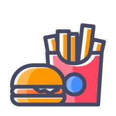 Kusum Snacks, Lake Town, Lake Town logo