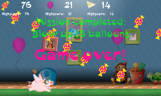 Flappy Pig - screenshot