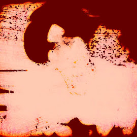this is an odd one I don't recall the steps as to which I took to make it like that. I know it's just a selfie of little old me when I was wearing my hair like that, which I don't often do but I liked it then later hated it. then I crafted this another photo edit just. by Jack Kelly - Abstract Water Drops & Splashes
