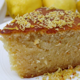 Spectacular Damp Lemon and Almond Cake adapted from Nigella Lawson