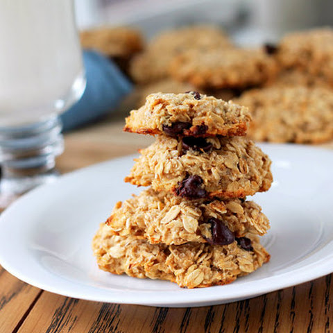 No Egg Oatmeal Chocolate Chip Cookies