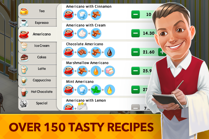 My Cafe: Recipes & Stories Screenshot 1