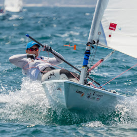 Women's Laser World Championships by John Pounder - Sports & Fitness Watersports ( mexico, racing, sail, laser, boat, championship, world )