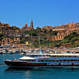 Mgarr Harbor, Gozo, Malta by Francis Xavier Camilleri - City,  Street & Park  Vistas