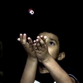 Catch D dice........ by Baidyanath Arya - Babies & Children Hands & Feet