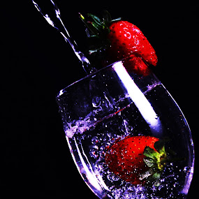 feel the red by Kristian Hadinata - Food & Drink Alcohol & Drinks