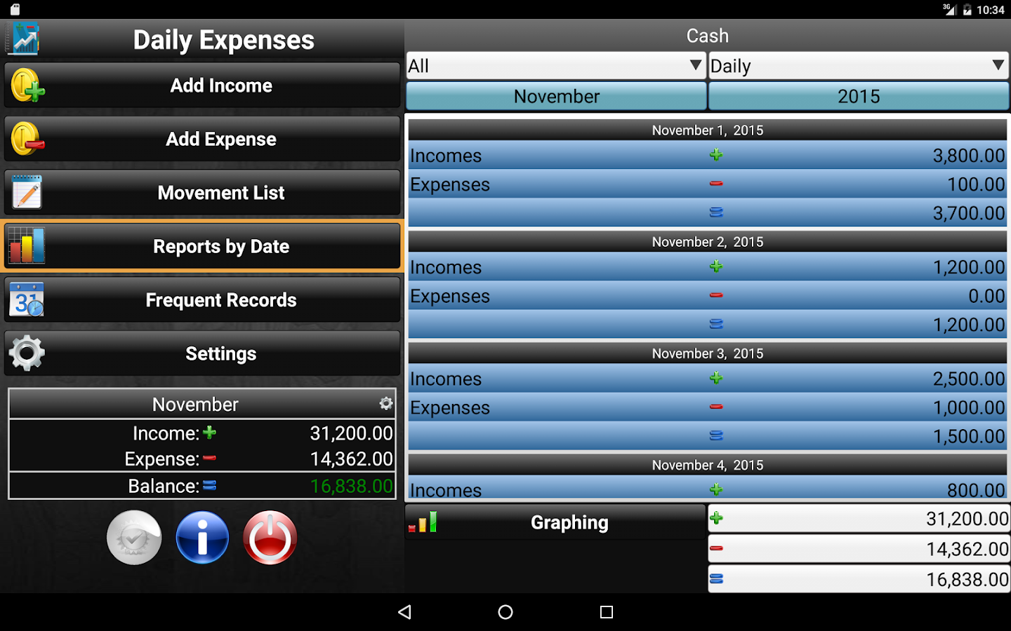 Daily Expenses 2 Screenshot 10
