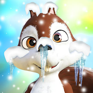 Download Talking Squirrel Frozen Forest For PC Windows and Mac
