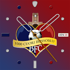 1000CuoriRossoBlu Watch Face