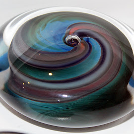 Swirl 2 by Lenora Popa - Artistic Objects Glass ( glass art, macro, colors, glass, miniature )