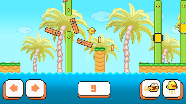 Birdy McFly : Run And Fly Over It! APK screenshot thumbnail 4