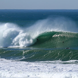 in the barrel by Eurico David - Sports & Fitness Surfing