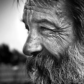 by Mladjan Pajkic - People Portraits of Men ( senior citizen )