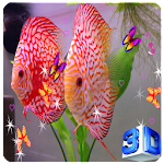 3D Discus Aquarium Live Wallpapers Icon