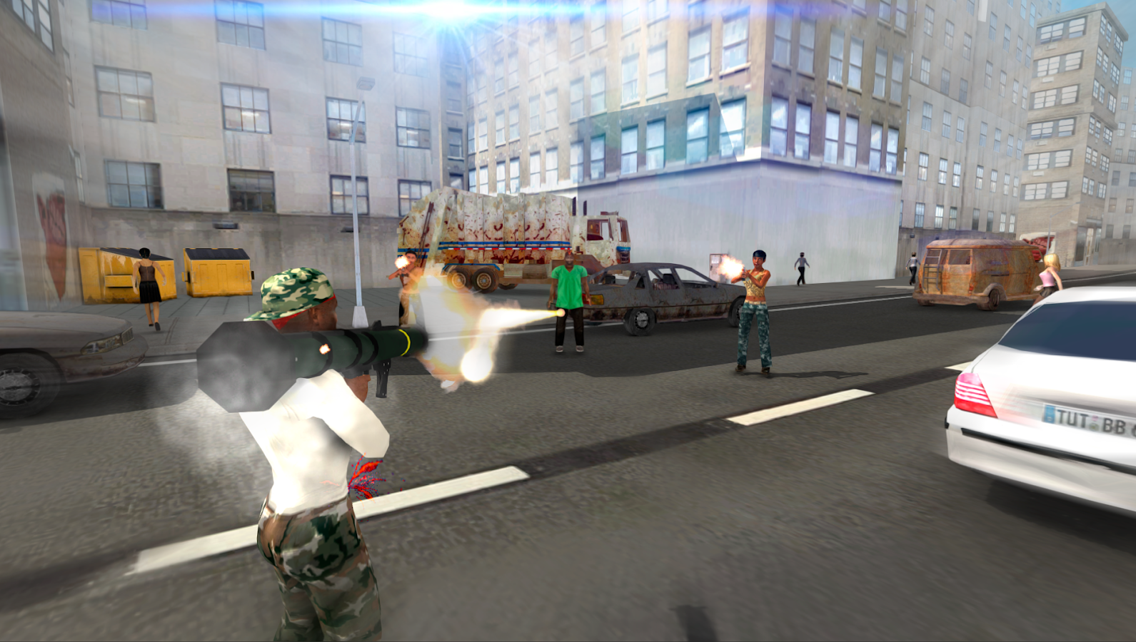Gangster Crime Wars Screenshot 1