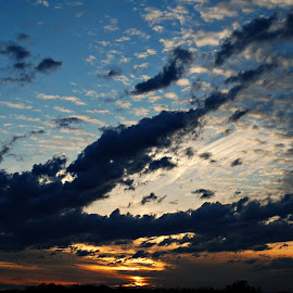 by Scott Bennett - Landscapes Cloud Formations