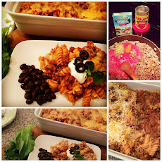 Ranch Taco Pasta Bake