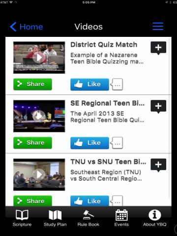Youth Bible Quiz 16 - screenshot