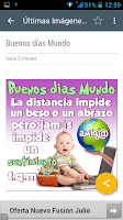 Screenshot of Imagenes de Buenos Dias