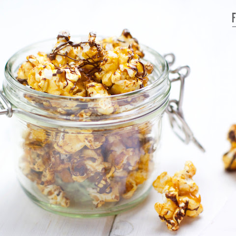 Salted Caramel and Chocolate Popcorn