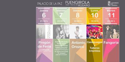 Cantajuegos - Feria del Rosario