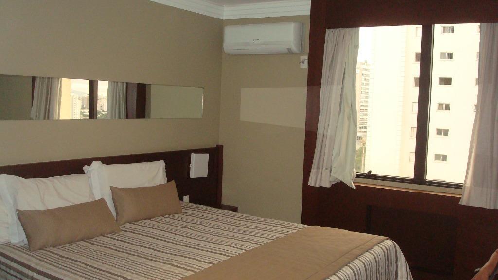 Flat com 1 dormitório à venda, 28 m² por R$ 250.000 - Campo Belo - São Paulo/SP