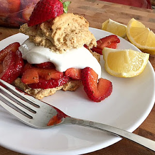 Heart Healthy Strawberry Shortcake with Bisquick™