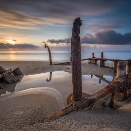 Remember... by Haim Rosenfeld - Landscapes Waterscapes ( dreamy, rusty, beach, travel, contemplate, long, drama, shot, middle, unreal, time, sky, nature, spiritual, movement, place, surreal, light, foreground, orange, wind, dream, windy, colors, soul, mood, image, atmosphere, horizon, dusk, picture, leading, reservation, scene, moody, lines, view, exposure, shore, dynamic, reflection, colorful, waterscape, land, line, beauty, israel, landscape, frozen, sun, coast, mediterranean, dreamlike, tide, dramatic, long exposure, east, nikon, rust, evening, water, clouds, sand, seashore, waves, wreck, beautiful, sea, seascape, scenic, gray, boat, photo, habonim, red, great, d810, blue, sunset, outdoor, scenery, milky, stunning )