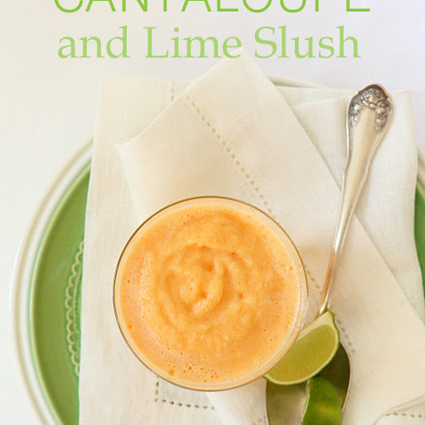 Cantaloupe Lime Slush