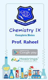 Chemistry IX - screenshot