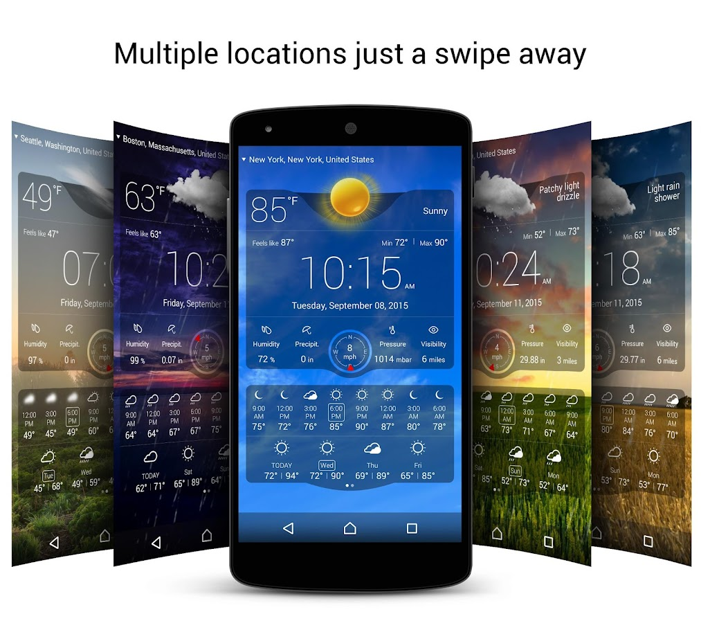 Weather Live Screenshot 2