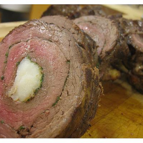 Lobster Stuffed Beef Tenderloin